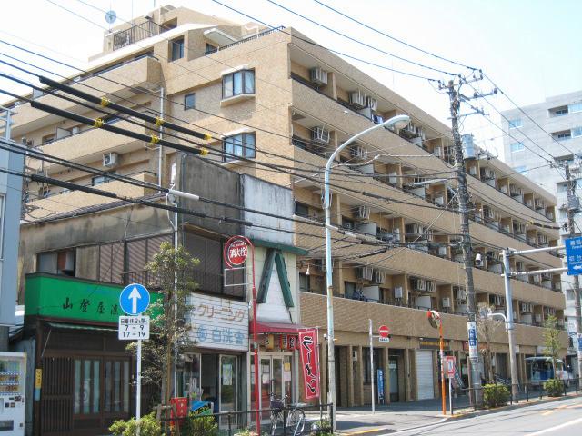 ライオンズマンション中野東外観写真