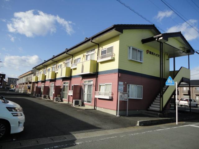 新井ハイツⅡ外観写真