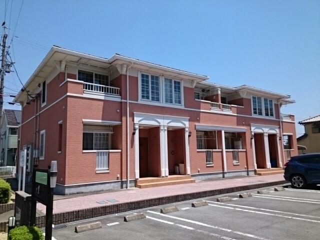 リバ-サイドシティ A棟外観写真