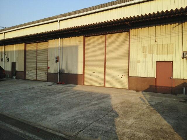 岩田産業倉庫外観写真