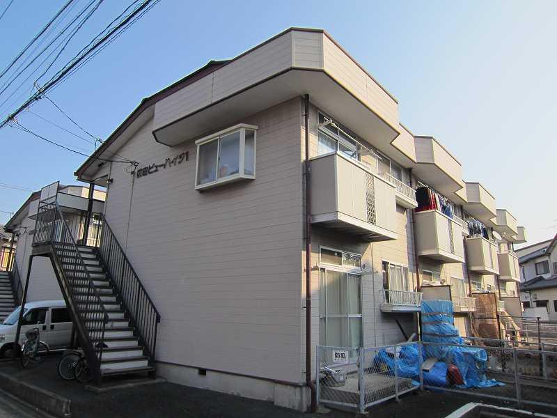 前田ビューハイツⅠ外観写真