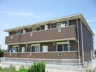 リーフィ弐番館B外観写真