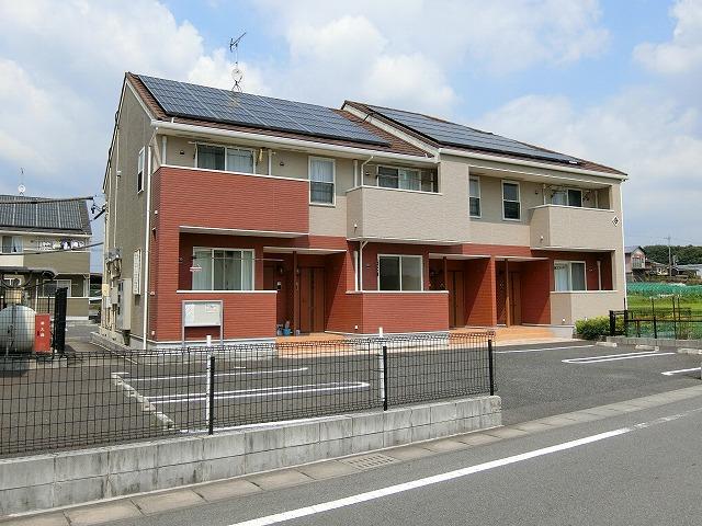 坂祝町黒岩アパート外観写真