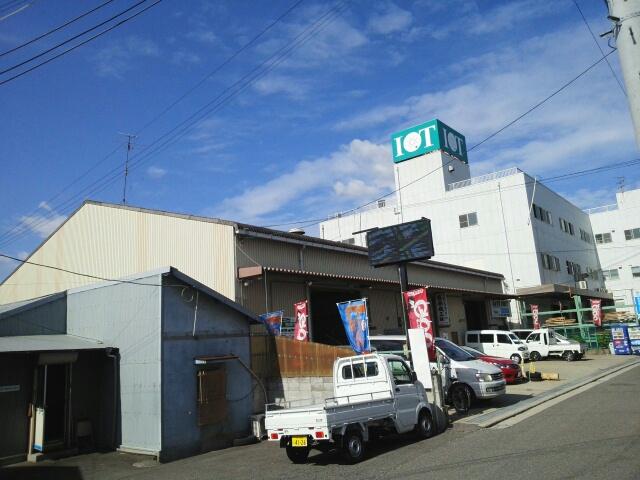 毛穴町倉庫外観写真