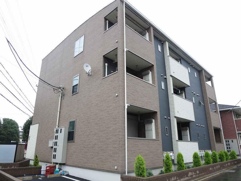 花小金井1丁目アパート外観写真