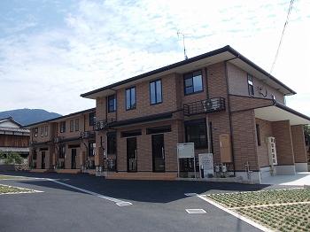 岩倉中町アパート外観写真