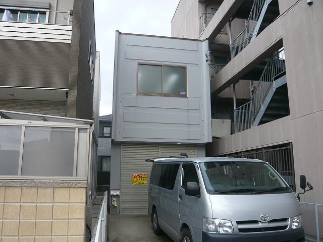 久田様倉庫付事務所外観写真