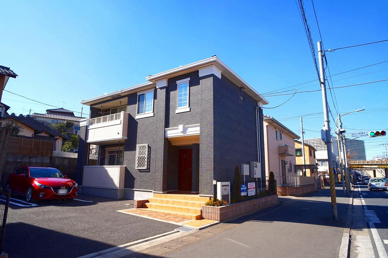 みのり町アパート外観写真