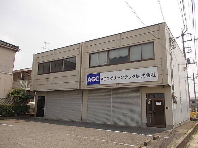 柿沼重男様倉庫付事務所外観写真
