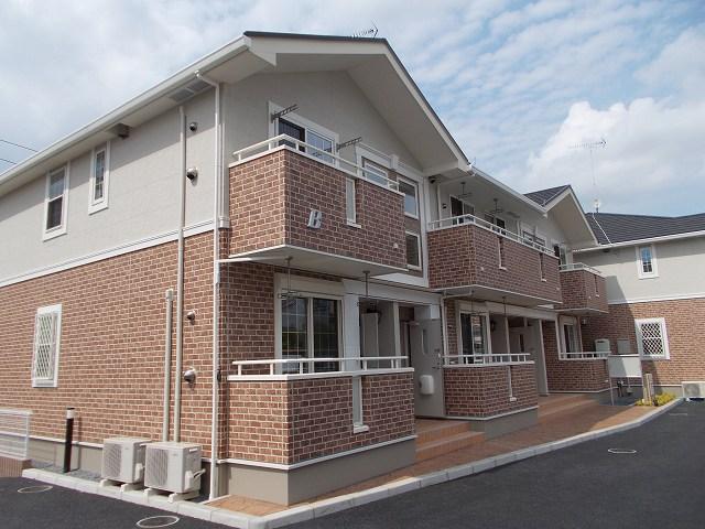 嵐山町平澤アパート外観写真