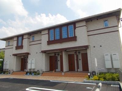 西明寺アパート外観写真