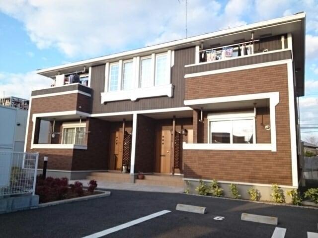 小見川アパートB外観写真