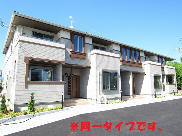 嵐山町菅谷アパート外観写真