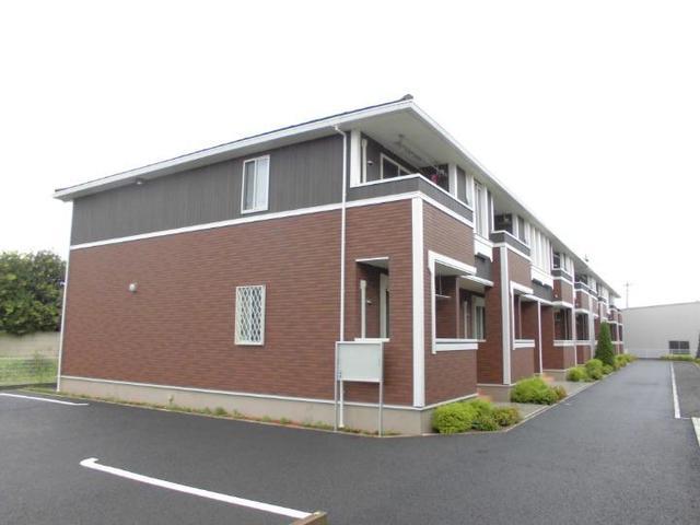 水海道諏訪町アパート外観写真