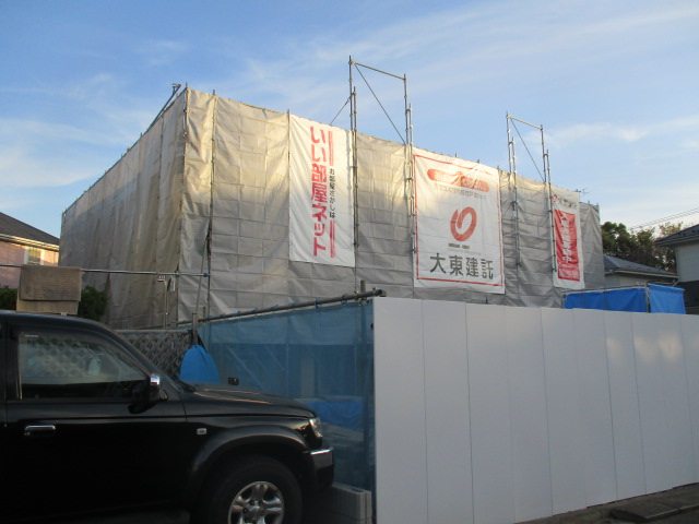 富士見が丘アパート外観写真