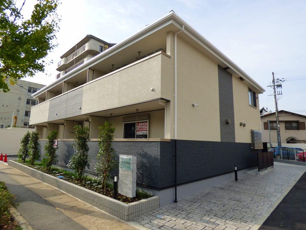 淀本町アパート外観写真