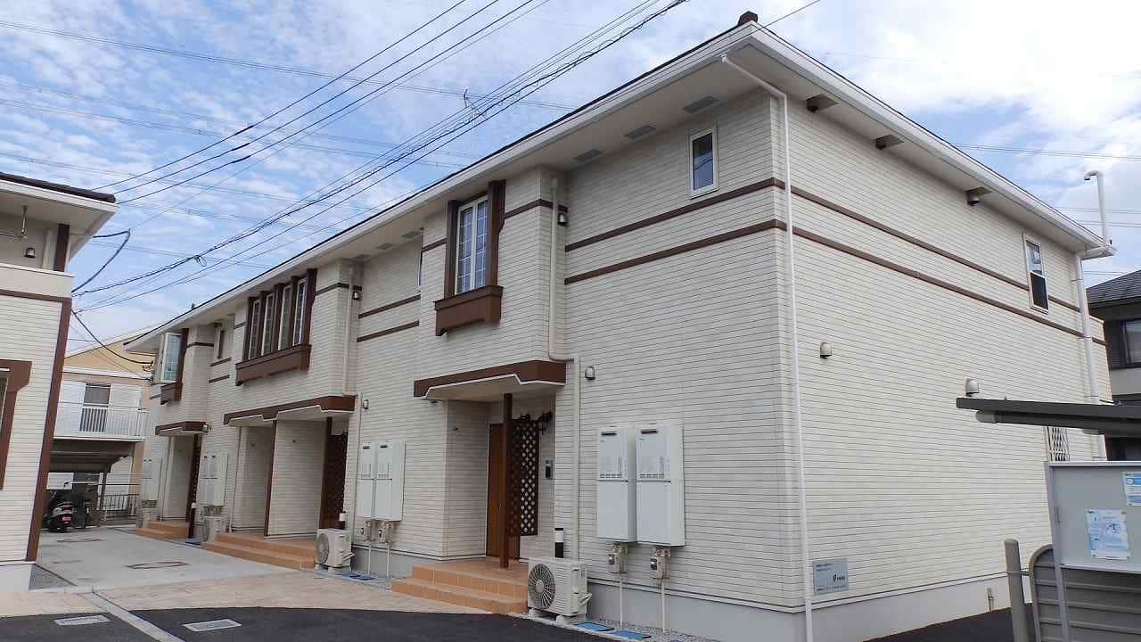 下新田アパート外観写真