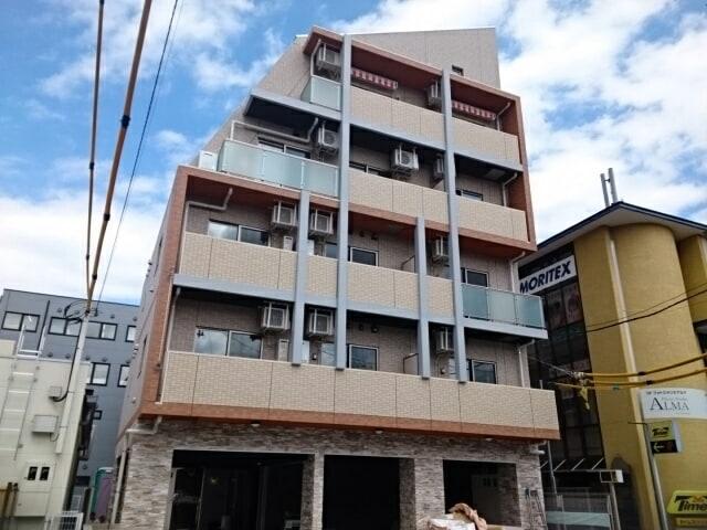 新石川2丁目店舗付マンション外観写真