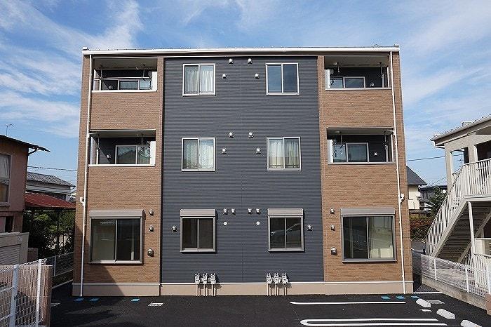 大泉町西小泉アパートB外観写真