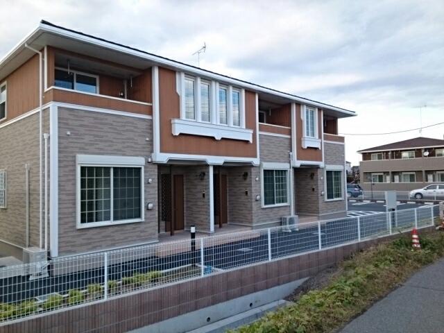 下田島町アパート外観写真