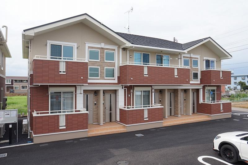 新道町アパートA外観写真