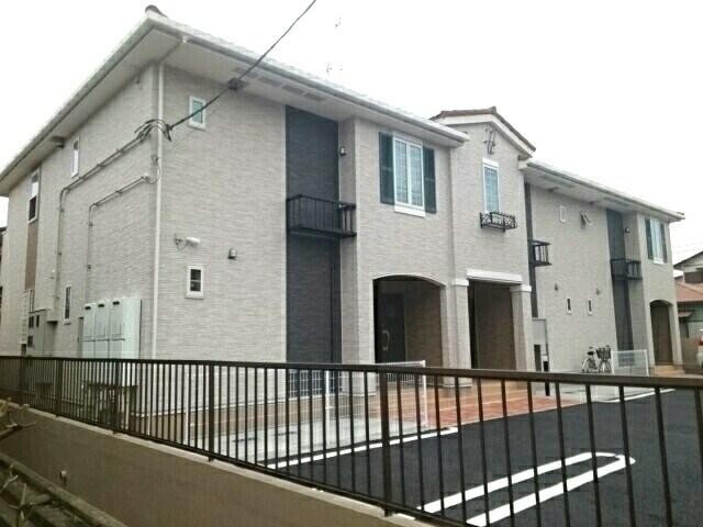 八幡アパート1外観写真