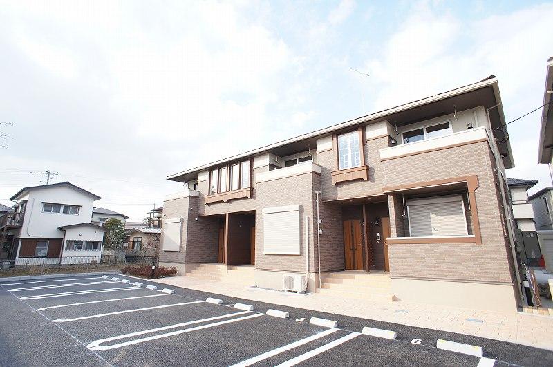 水海道橋本町アパート1外観写真