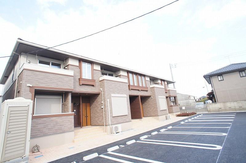水海道橋本町アパート2外観写真