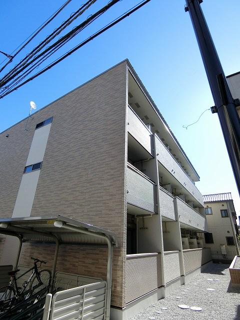松葉町アパート外観写真