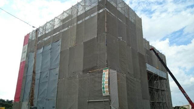 知花4丁目マンション外観写真