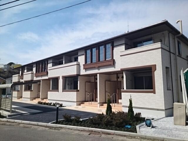 諏訪町アパート外観写真