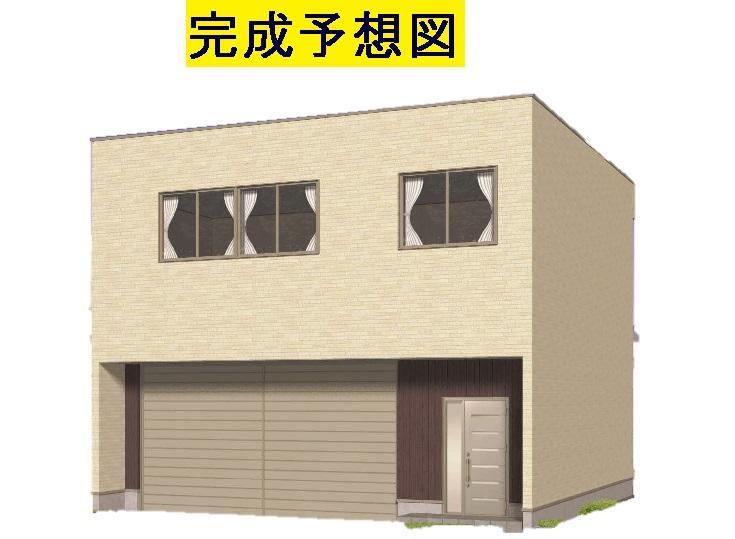 下奈良中ノ坪倉庫付事務所外観写真