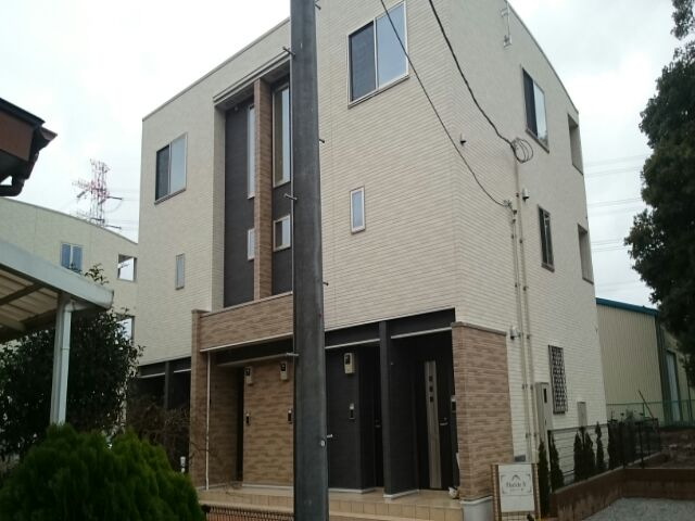 上尾市アパート外観写真