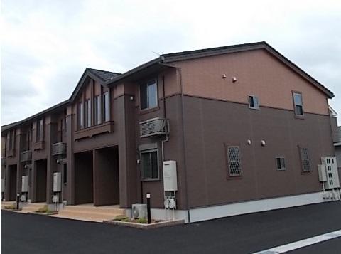 鮫島アパート外観写真