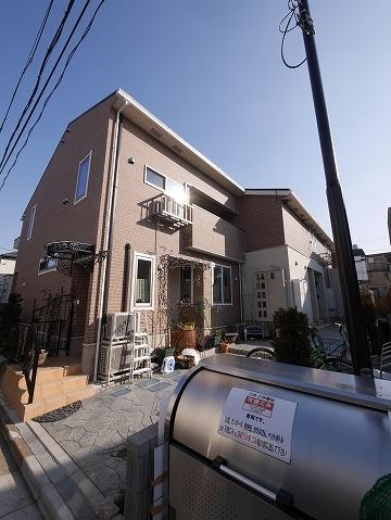 奥沢5丁目アパート外観写真
