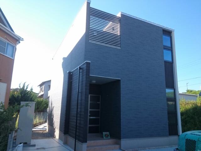 新家戸建住宅外観写真