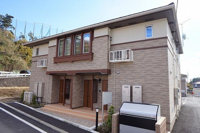 仮)笠懸町西鹿田アパートA外観写真