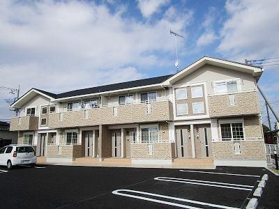 川原田町アパート外観写真
