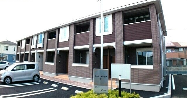 壬生町アパート外観写真