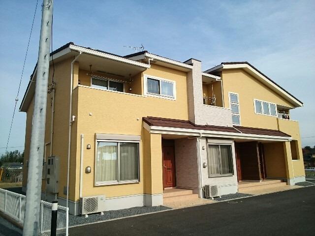 榛東村新井アパート外観写真