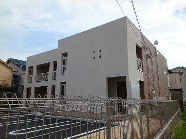 昭和町アパート外観写真