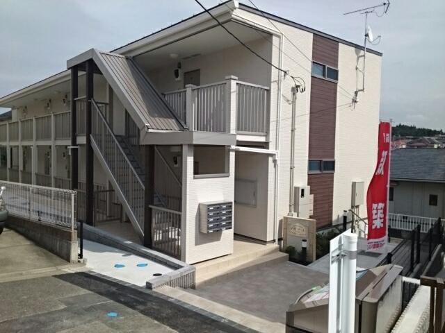 (仮称)南本宿町アパート外観写真