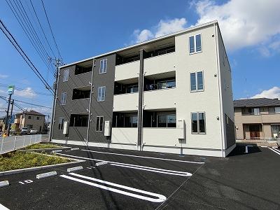 箱森町アパート外観写真