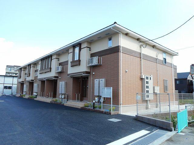 福島町3丁目アパート外観写真