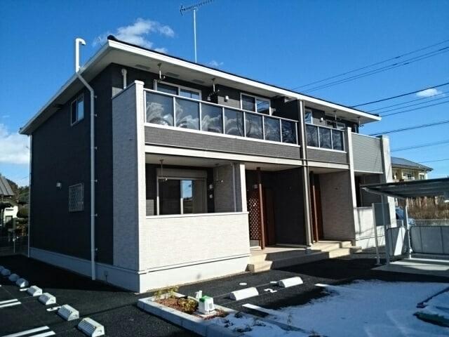 大平町富田アパート2外観写真
