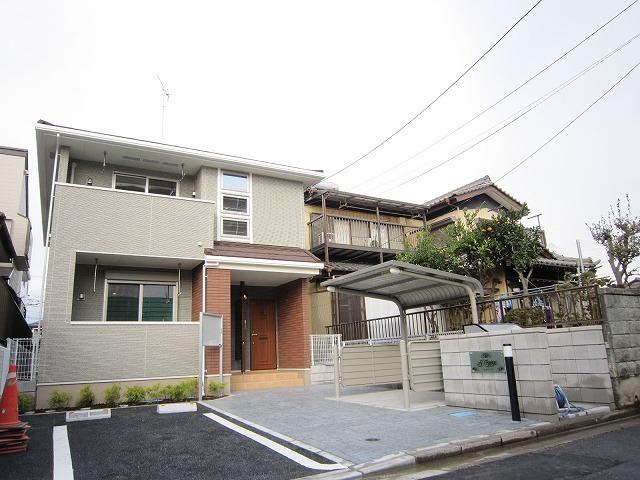 早稲田2丁目アパート外観写真
