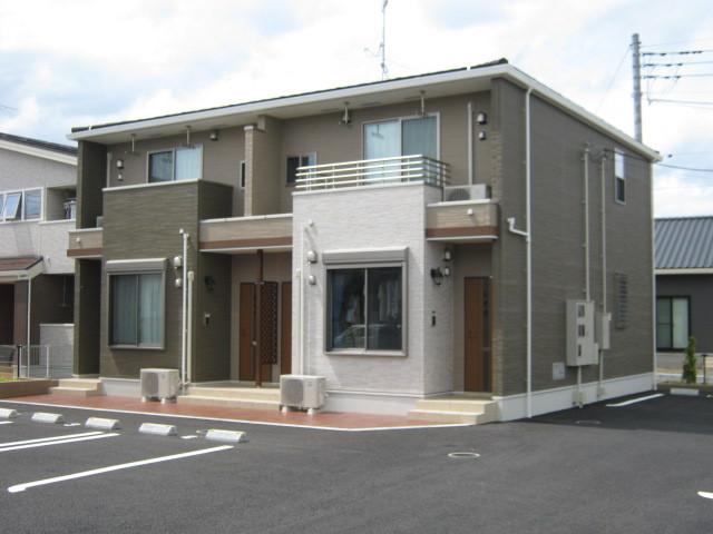 貝沢町アパート トイロR1S2外観写真