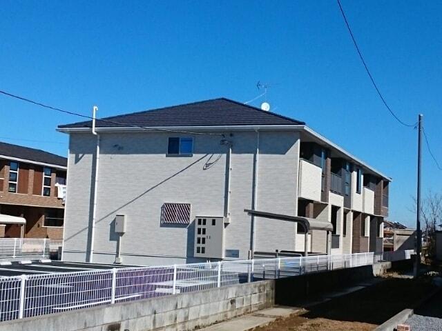 北下新井アパート外観写真