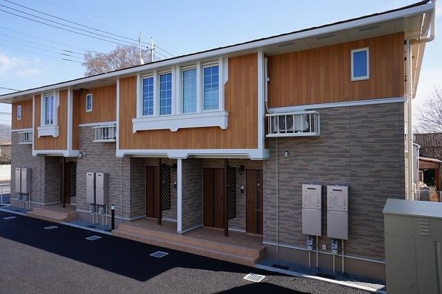 藪塚町アパート外観写真