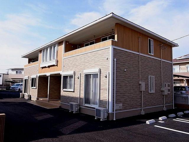 藪塚町アパートⅢ外観写真